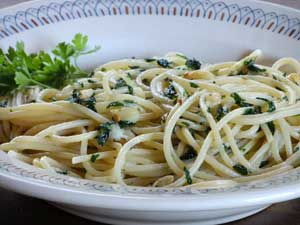 GARLIC & OIL PASTA